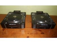 Pair of Denon SC3900 CD Decks - Boxed