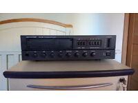Monacor PA-1200 120W Mixer amp + matching pair of Eagle Column Speakers