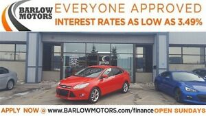 2012 Ford Focus SEL (APPLY NOW DRIVE NOW)