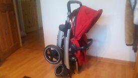 MaxiCosi Elea Red Pushchair Cheap