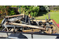 Trailer full of scrap metal free to a good home