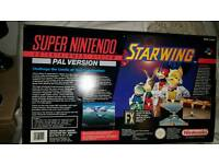 Super Nintendo Snes Starwing Collectors