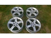 "4 Toyota Lexus 17"" Alloy Wheels - collection Fleet (Hants) or Wokingham(Berks)"
