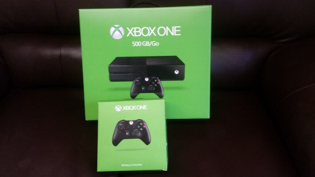 Xbox One 500GB + EXTRA PAD New & Sealed