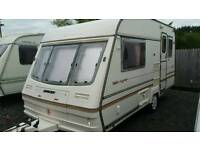 1996 luxury bailey majestic caravan light weight comes with new awning fitted motormover