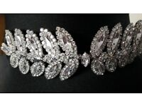 BNWOT Louis Mariette Vivienne Crystal Bridal Headband