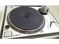Technics SL-1200 mk2 pair (flight cased)