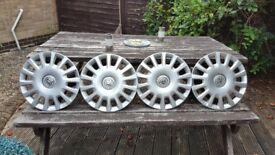 Vauxhall Corsa wheel trims x4