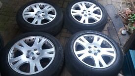 19 RANGEROVER SPORT ALLOY WHEELS L322 L405 VW T5 T6 TRANSPORTER VAN ETC 255 50 19