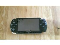 PSP 1000 black plus 2 free games