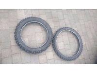 Metzeler Enduro part worn motorbike tyres