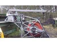 Pinroth Hydraulic Winch. Leitwolf W. Max breaking strain 9.5 tonne. 850m wire cable