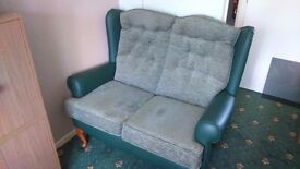 Two, 2 seater settees