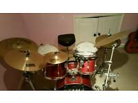 Tama Rock Star Full drum set