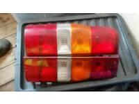 Ford transit mrk 6 van back lights