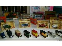 Collection of toy vehicles