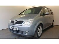 2004 | Vauxhall Meriva Design 1.4 Twinport | SUNROOFS | REAR PARKING SENSORS | 2 FORMER KEEPERS |MOT