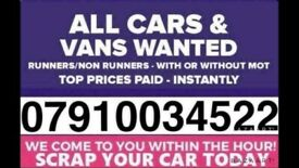 🇬🇧📞 All cars vans wanted fast cash non runner no mot scrap free collection