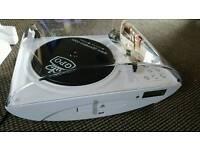 4 in 1 turntable, cd ,radio Vinyl to usb