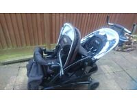 Graco Quattro Tour Duo Double Buggy - Used, very good condition