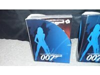 JAMES BOND MODEL CAR COLLECTION 134 CARS COMPLETE WITH ALL MAGAZINES AND 3 FREE CARS
