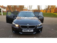 2012 62 BMW 3 SERIES 5 DOORS AUTOMATIC - LOW MILES - £30 ROAD TAX A YEAR