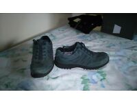 Womens leather/suede shoes size 7