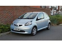 Toyota Aygo 1.0 Plus (2006/06 Reg) + 1 LADY OWNER + FSH + £20 TAX + HPI CLEAR + GENUINE EXAMPLE +