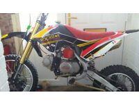 125cc moto madness pit bike