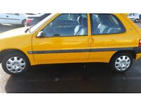 CITROEN SAXO, 12MONTHS MOT, SERVICE HISTORY, CHEAP ON FUEL TAX, TIDY HEATING WORKS PERFECT £575ONO