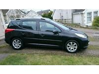 Peugeot 207 HDI SW Great wee compact Estate Car. Very economical. Reliable driver.