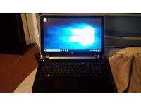 HP Pavilion TouchSmart 15 Notebook PC quad core laptop