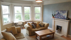 large double bedroom in flat very close to Alum Chine beaches & Westbourne high street