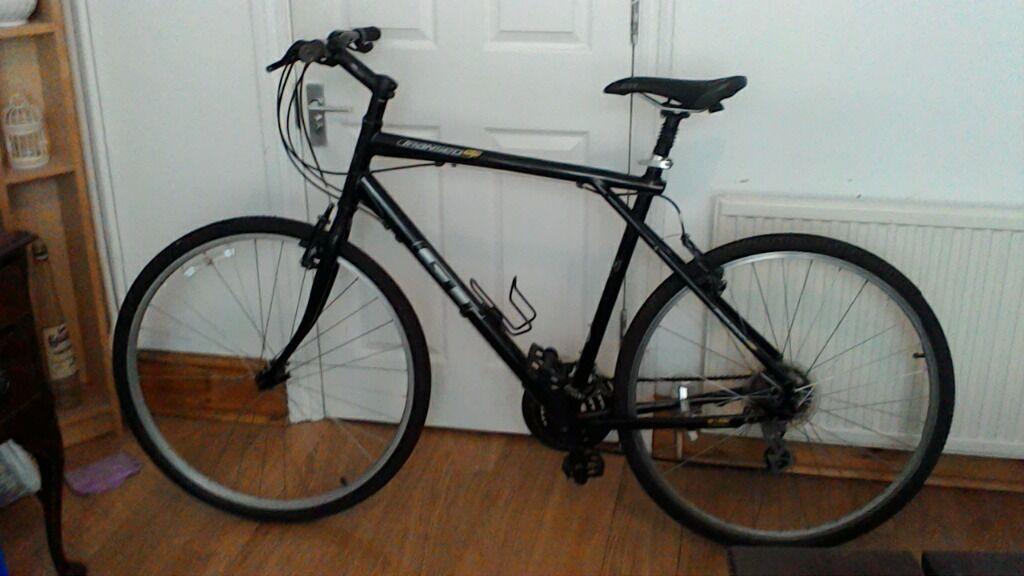 Gt Transeo 5 0 Gents Bike Aluminium Frame Large Hybrid Frame