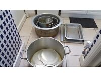 Restaurant or catering pans, Tin Cutter, Oven Trays