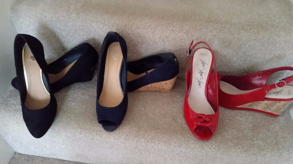 womans shoesin Kingswood, BristolGumtree - Selection of ladies shoes sizes 5 1/2 and size 6 all good condition some only worn the once