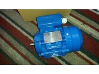 brand new single phase electric motor 0,25kw 2780 rpm ready to go