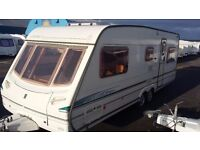 Touring caravan abbey spectrum 620 6 berth 2002