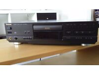 Technics CD player. Old style but fully functional.
