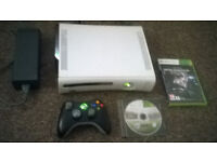 XBox 360 with 2 Games For Sale