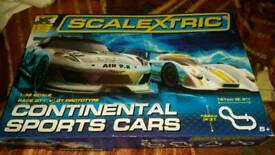 Scalextric Continental Sports Car Set