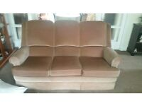 Parker Knoll suite- 2 sofas, recliner chair,footstool 500 ono