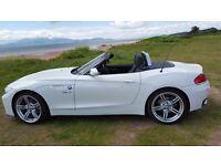 White BMW Z series (E89) Z4 S DRIVE 2:0i M Sport Roadster *** LOW MILES ***