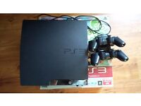 Playstation 3 320gb, Two controllers, Ferrox 4.81