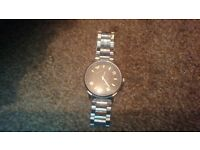 silver Emporio Armani watch fully working £50