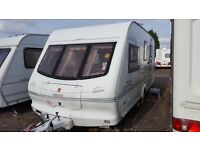 Elddis typhoon ex 2000, 4 berth touring caravan for sale