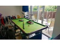 Jaques 6ft Pool Table, good condition.