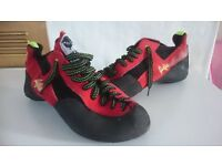 Size 8 and 1/2 Reflex Climbing Boots. Excellent Condition
