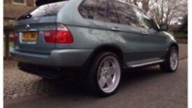 BMW X5 3.0d SPORT with genuine Alpina alloys 98,400 miles, rear entertainment, 2 keys