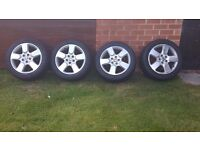 Skoda octavia scout alloy wheels and tyres